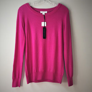 Forever 21 Essentials L Wool Sweater Orchid NWT